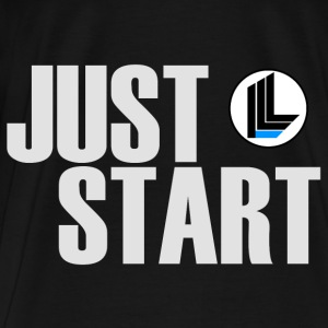JUST START Hoodies - Men's Premium T-Shirt