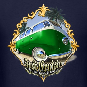 T1 Bus - Just Cruisin Long Sleeve Shirts - Men's T-Shirt