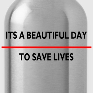 ITS A BEAUTIFUL SAVE LIVE Kids' Shirts - Water Bottle