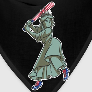 Lady Liberty Baseball - Bandana