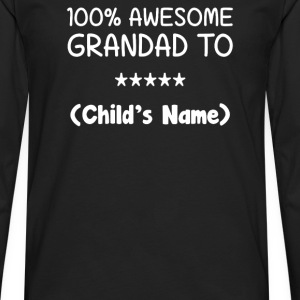Awesome Grandad - Men's Premium Long Sleeve T-Shirt