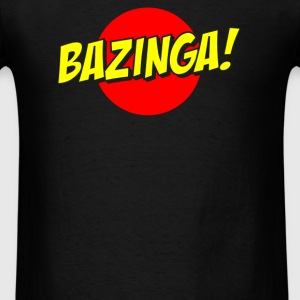 BAZINGA Slogan - Men's T-Shirt