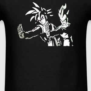 DRAGON BALL Z PULP FICTION Goku Vegeta - Men's T-Shirt