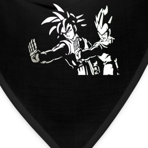 DRAGON BALL Z PULP FICTION Goku Vegeta - Bandana