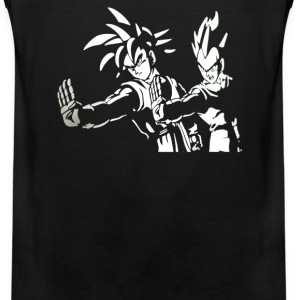 DRAGON BALL Z PULP FICTION Goku Vegeta - Men's Premium Tank