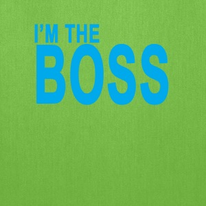 im_the_boss_tshirt_ - Tote Bag
