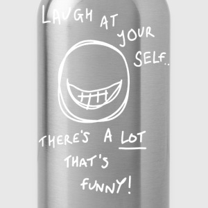 Lot to laugh at! - Water Bottle
