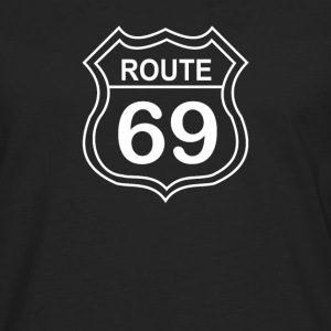 route 69 - Men's Premium Long Sleeve T-Shirt