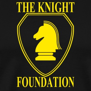the knight foundation - Men's Premium T-Shirt