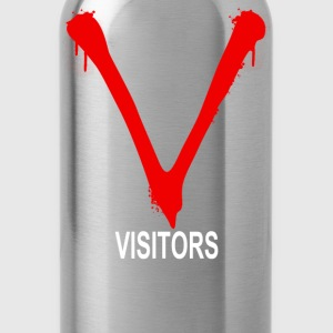 the visitors retro - Water Bottle