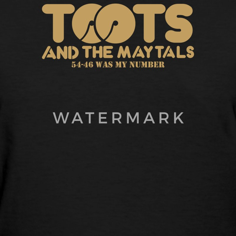 Toots And The Maytals - Women's T-Shirt