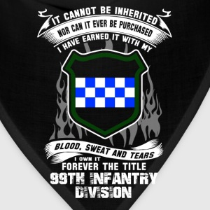 99th Infantry division - I've earned it with blood - Bandana