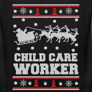 Child care worker - Awesome christmas sweater tee - Men's Premium Tank