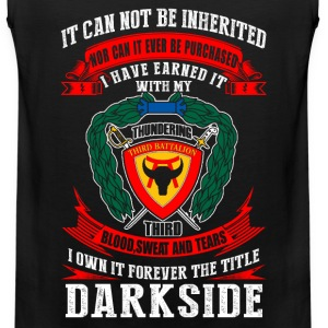 Darkside - I've earned it with my blood t-shirt - Men's Premium Tank