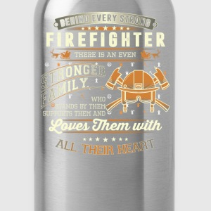 Firefighter - Firefighter family awesome t-shirt - Water Bottle