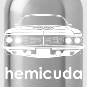 1971 Plymouth Hemicuda T-Shirts - Water Bottle