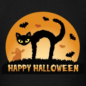 HAPPY HALLOWEEN Long Sleeve Shirts - Men's T-Shirt