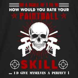 Paintball Player Shirt - Men's Premium Long Sleeve T-Shirt