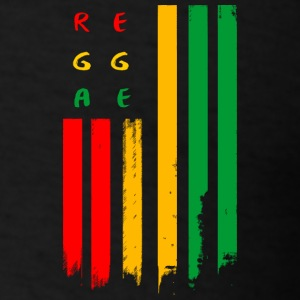 reggae u.s flag - Men's T-Shirt