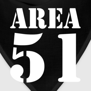 AREA 51 UFO ALIEN SECRET PLACE UNIVERSE T-Shirts - Bandana