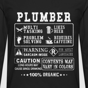 Plumber - Freaking awesome plumber t-shirt - Men's Premium Long Sleeve T-Shirt