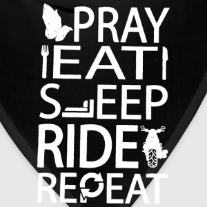 Riders prayer Repeatation t-shirt for rider - Bandana