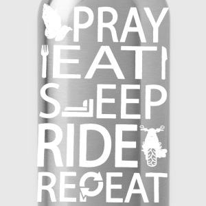Riders prayer Repeatation t-shirt for rider - Water Bottle
