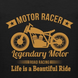 Motor racer - Life is a beautiful ride awesome tee - Men's Premium Tank