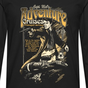 Serenity - Captain Mail's adventure Cruises tee - Men's Premium Long Sleeve T-Shirt