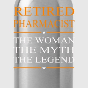 Pharmacist - The woman the myth the legend tee - Water Bottle
