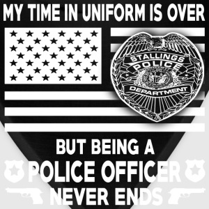 Police officer - Being a police officer never ends - Bandana