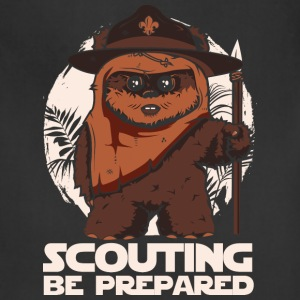 Scout - Scouting be prepared awesome tee - Adjustable Apron