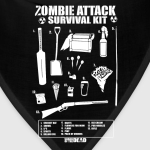 Zombie - Cool Zombie attack survival kit t-shirt - Bandana