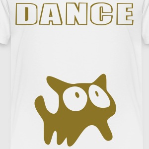 Dance (Cat) - Toddler Premium T-Shirt