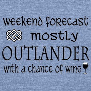 forecast - Outlander Long Sleeve Shirts - Unisex Tri-Blend T-Shirt by American Apparel