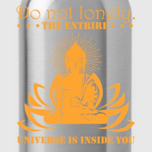 Meditate Buddha Shirt - Water Bottle