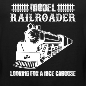 Model Railroader Shirts - Men's Premium Tank