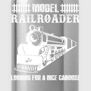 Model Railroader Shirts - Water Bottle