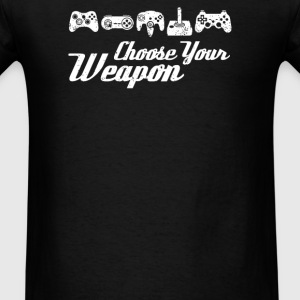 Choose Your Weapon Game - Men's T-Shirt