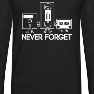 Forget Never - Men's Premium Long Sleeve T-Shirt