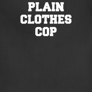 PLAIN CLOTHES COP - Adjustable Apron