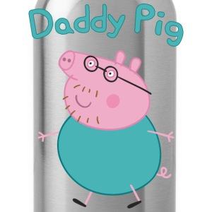 Daddy pig - Water Bottle