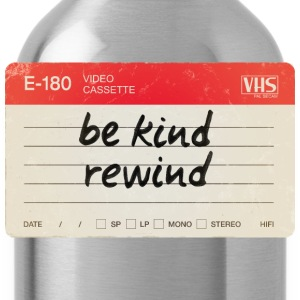 Be kind rewind - Water Bottle