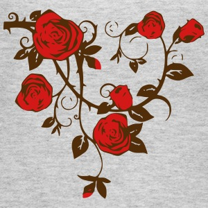 Roses - Women's Long Sleeve Jersey T-Shirt