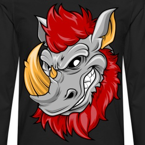 rhino T-Shirts - Men's Premium Long Sleeve T-Shirt