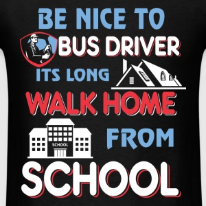 Bus Driver Men's Hoodie - Men's T-Shirt