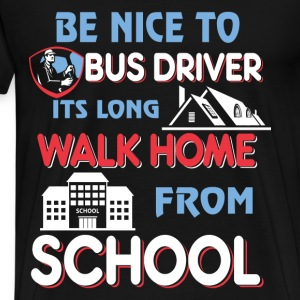 Bus Driver Men's Hoodie - Men's Premium T-Shirt