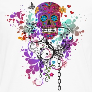 Girlie Skull - Men's Premium Long Sleeve T-Shirt