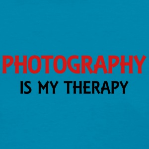 Photography is my therapy Tanks - Women's T-Shirt