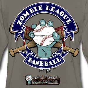 Zombie League Baseball T-Shirts - Men's Premium Long Sleeve T-Shirt